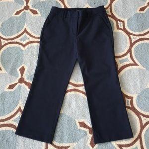 Talbots Cropped Navy Pants